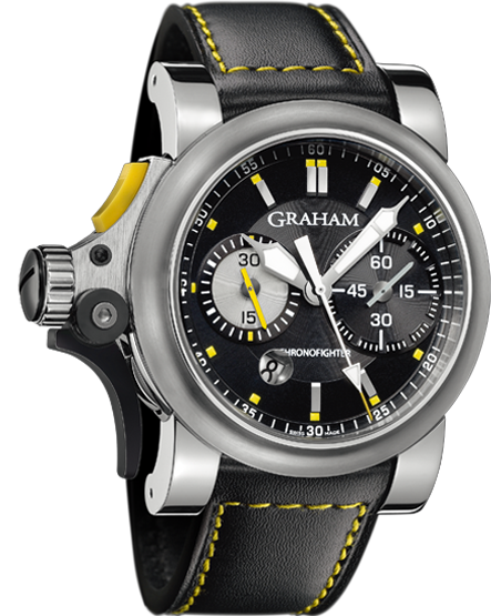часы Graham Chronofighter R.A.C Trigger Black Rush