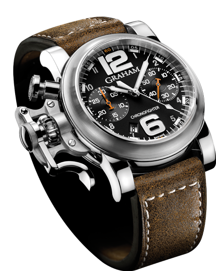 часы Graham Chronofighter R.A.C Black Fighter