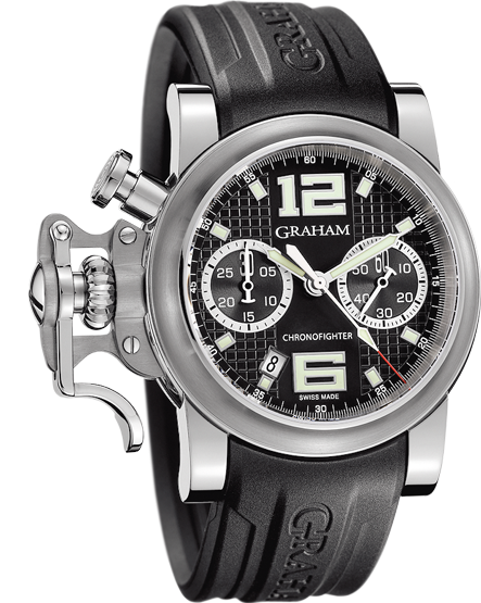 часы Graham Chronofighter R.A.C. Black Shock