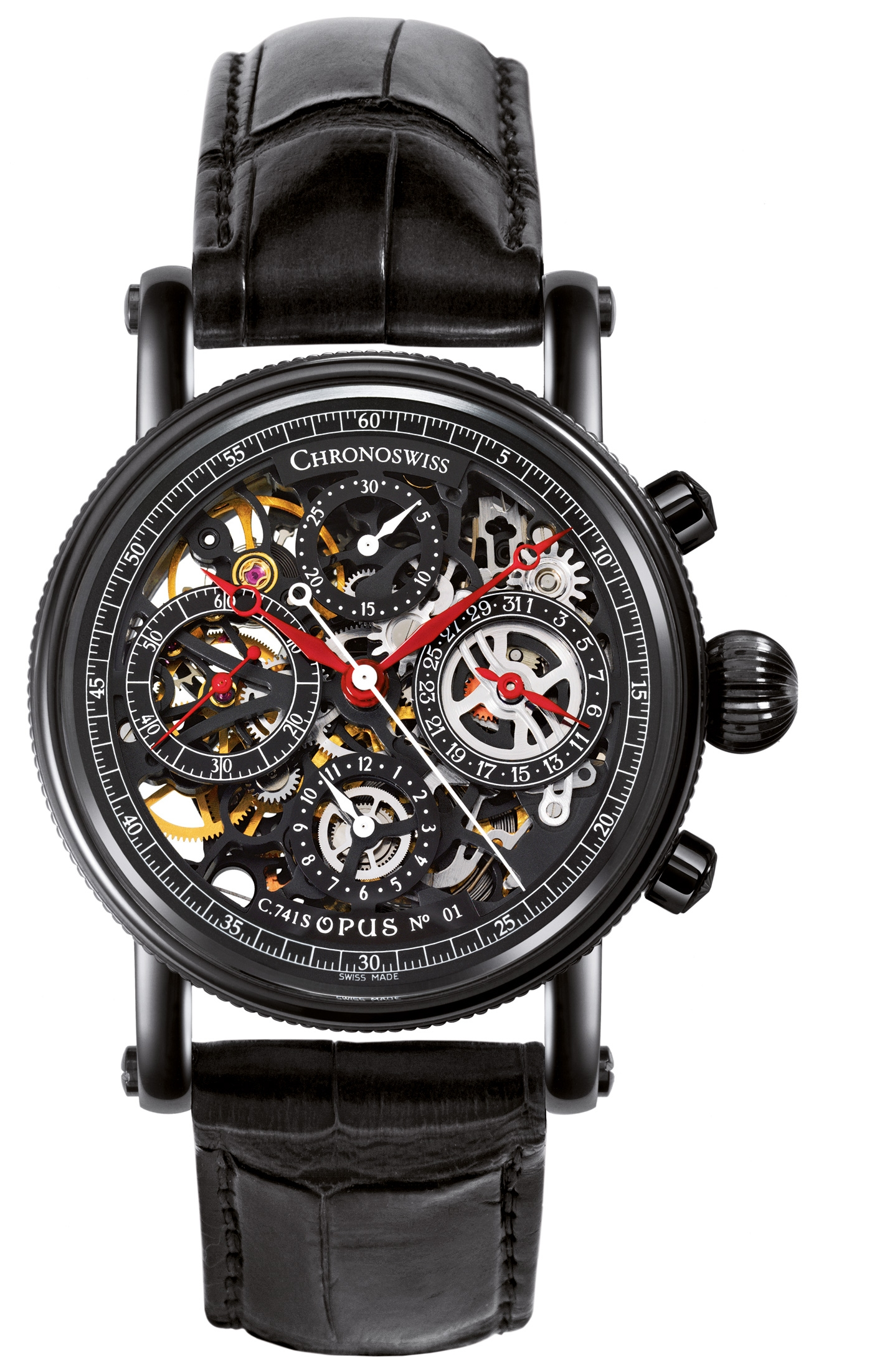 часы Chronoswiss Grand Opus Chronograph DLC