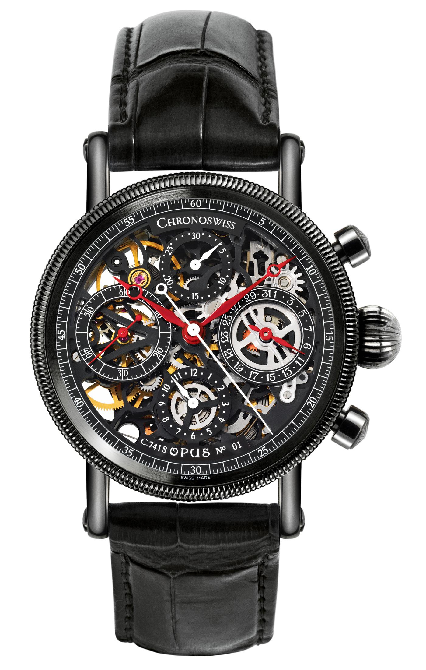 часы Chronoswiss Opus Chronograph DLC