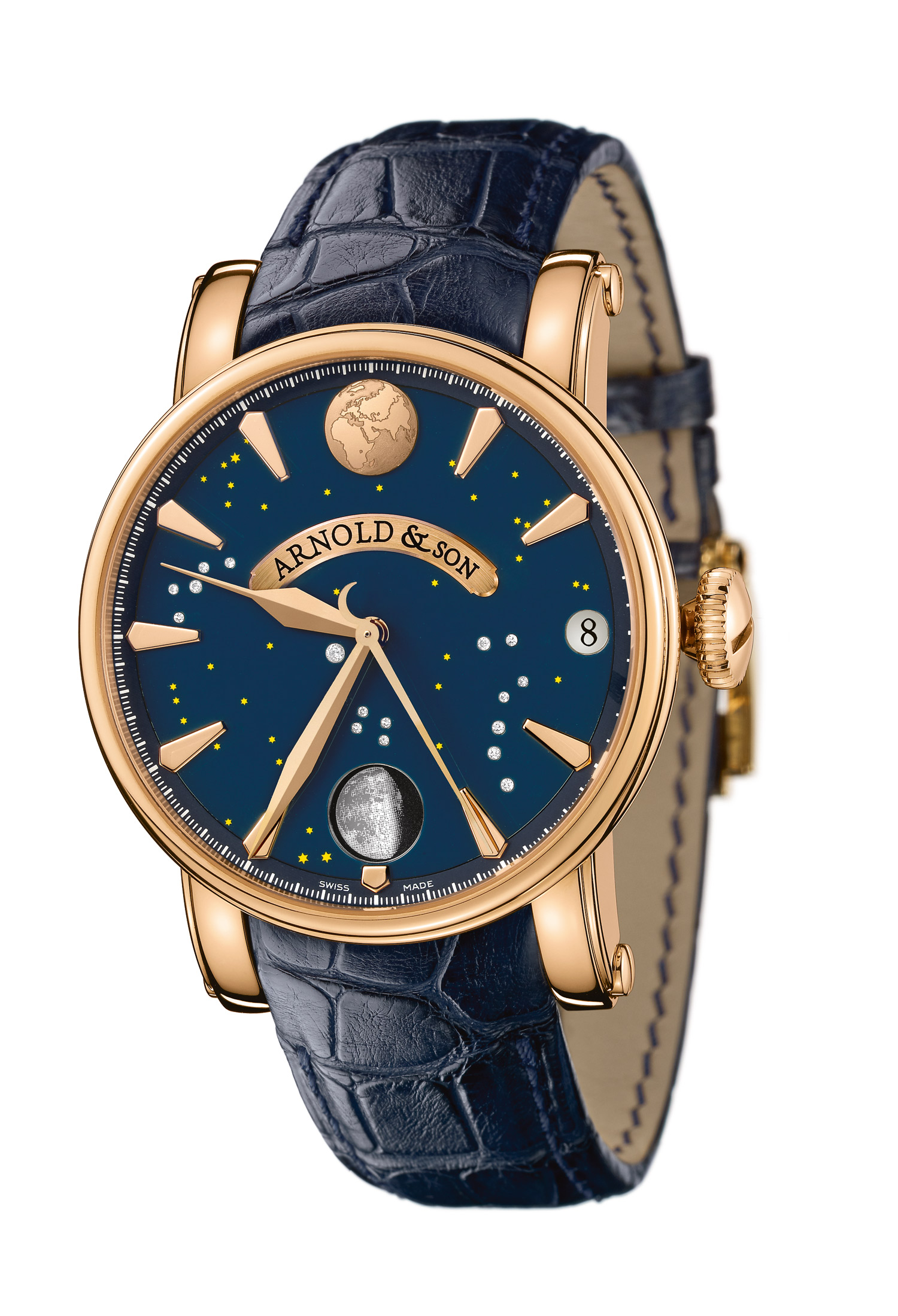 часы Arnold & Son True Moon