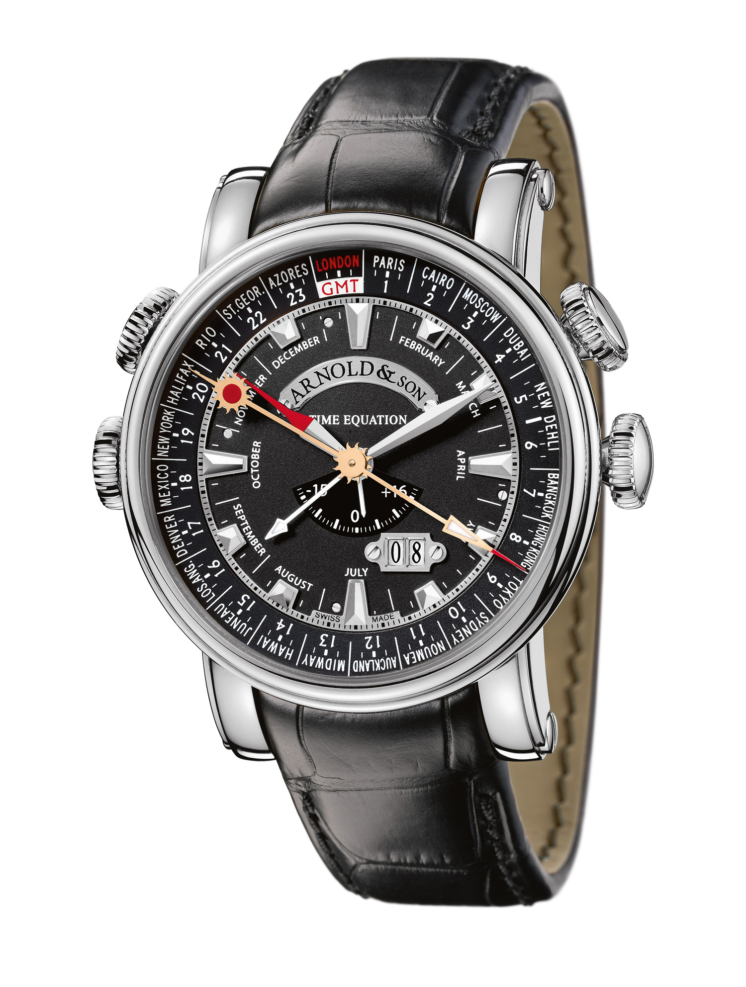 часы Arnold & Son Hornet World Timer