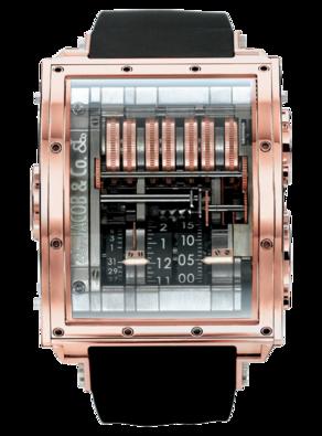 часы Jacob & Co Quenttin Tourbillon Collection Rose Gold