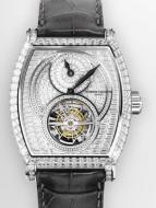 Tonneau Regulator Tourbillon High Jewellery