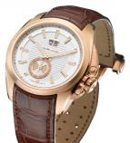 Favre-Leuba Mercury Big Date Gold