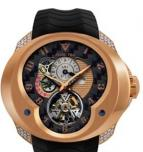 Tourbillon Planetaire GMT Red Gold