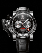 CHRONOFIGHTER OVERSIZE GMT STEEL