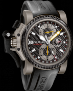 CHRONOFIGHTER OVERSIZE TITANIUM AIRWING BLACK CARBON