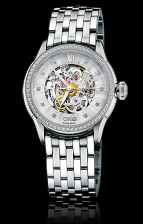 Oris Artelier Skeleton Diamonds
