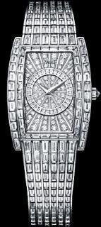 Limelight tonneau-shaped watch