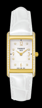TISSOT NEW HELVETIA LADY DIAMONDS
