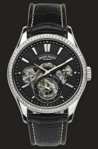 Black Dial with diamond bazel