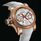 Chronofighter R.A.C Trigger Gold White Rush