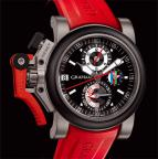 CHRONOFIGHTER OVERSIZE REFEREE - BLACK DIAL