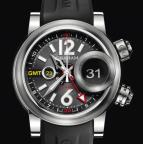Swordfish Grillo Alarm GMT Black Eye