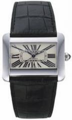 Cartier Tank Divan Steel Automatic