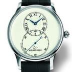 Grande Seconde Lady Ivory Enamel