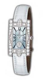 Avenue Lady (WG_Diamonds / MOP / White Strap)