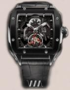 Evosquare 50 T-S Tourbillon Sport Black