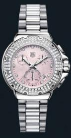 Formula 1 Diamond Chronograph (SS-Diamonds / Pink / SS)
