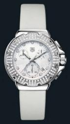 Formula 1 Diamond Chronograph (SS-Diamonds / MOP / Strap)
