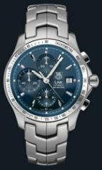 Link Automatic Chronograph (SS / Blue / SS)