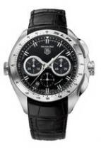 TAG Heuer SLR (Black / Leather)