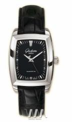 Glashutte Original Lady Serenade Karree (SS Black Leather)