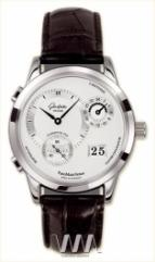 Glashutte Original Panomaticvenue (SS / Silver / Leather)