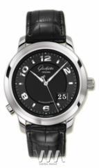 Glashutte Original Panomaticcentral XL (WG / Black / Leather)