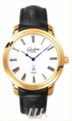 Glashutte Original Senator Meissen (RG / White / Leather)