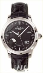 Glashutte Original Senator Perpetual Calendar (Pt / Black / Leather)