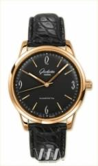 Glashutte Original Senator Sixties (RG / Black / Leather)