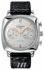 Glashutte Original Senator Sixties Square Chronograph White Dial