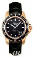 Glashutte Original Sport Evolution Panorama Date (RG / Black / Leather)
