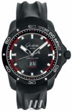 Glashutte Original Sport Evolution Impact Panorama Date Rubber Strap