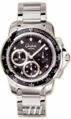 Glashutte Original Sport Evolution Chronograph (SS / Black / SS)