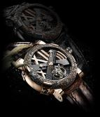 Titanic-DNA – Rusted steel T-oxy IV Tourbillon pink gold Ultimate