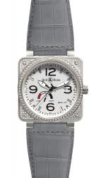 Top Diamond White Dial