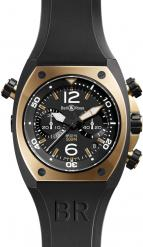 Chronograph Pink Gold & Carbon Finish