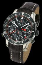 B-42 OFFICIAL COSMONAUTS CHRONOGRAPH ALARM  Chronometer C.O.S.C. TITANIUM