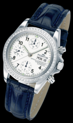 OFFICIAL COFFICIAL CCOSMONAUTS CHRONOGRAPH DIAMOND