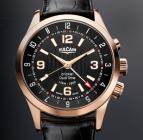 Aviator Dual Time - Gold
