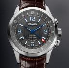 Aviator Dual Time - Steel