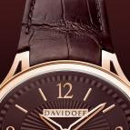 ���� Davidoff Red gold davidoff red dial