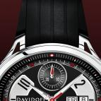 ���� Davidoff Gent automatic rubber strap