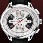 ���� Davidoff Chronograph bicolour silvered dial