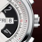 часы Davidoff Chronograph bicolour silvered dial
