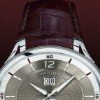 часы Davidoff Dual time big date